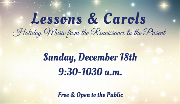 A Festival of Lessons  Carols